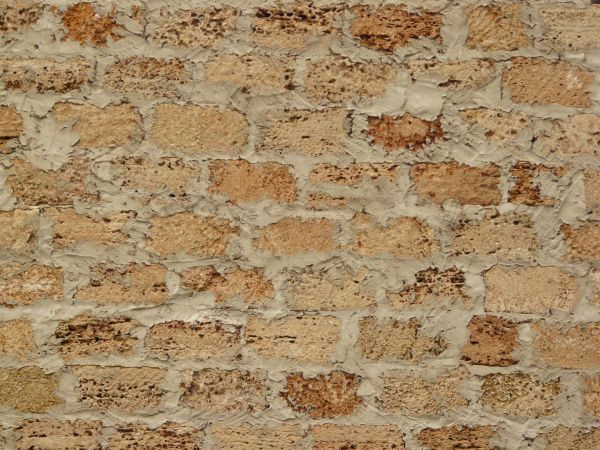 Rough Beige Brick Wall 0034 Texturelib