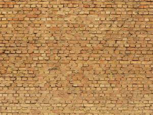 brick wall as