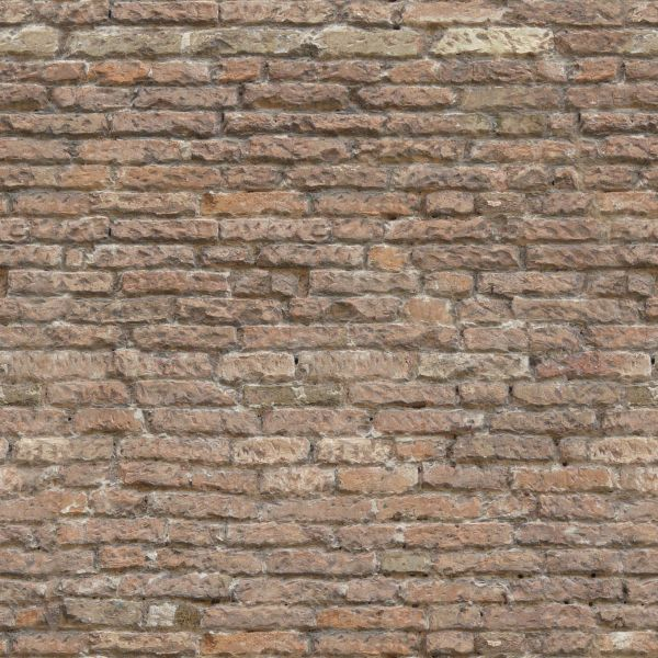 Old Brick Wall Texture Seamless Brick wall in faded grey color