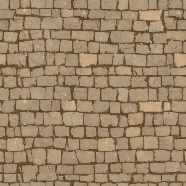 Seamless  aged pavement texture containing stones of various shapes and sizes  aged cobblestone. pavement textures   Texturelib