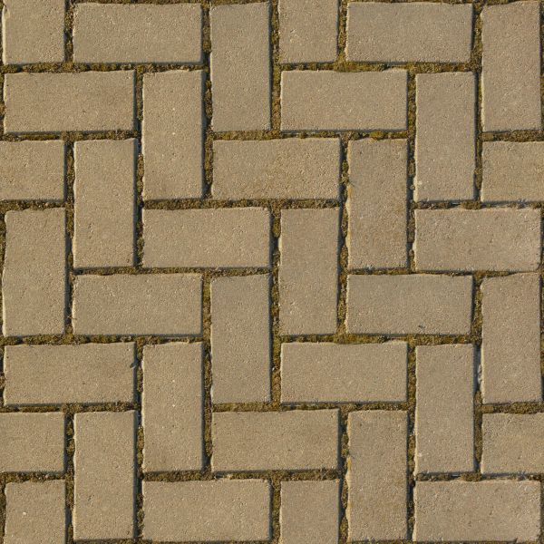 Seamless cobblestone texture containing beige bricks set in repeating patterns. pavement textures   Texturelib
