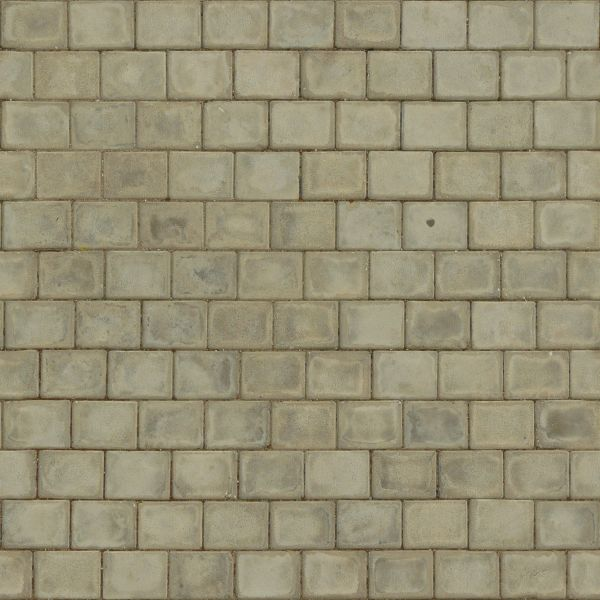 Seamless texture of rectangular bricks in beige tone with slightly dirty  surface. pavement textures   Texturelib