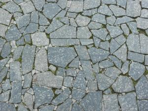 Pavement Made Of Broken Stone Tile Pieces And Installed In Crazy Formation  Pavement Textures Texturelib