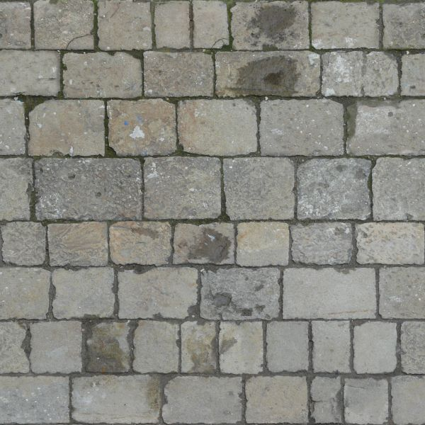 Seamless pavement texture of grey stones with uneven edges and stains on  surface. pavement textures   Texturelib