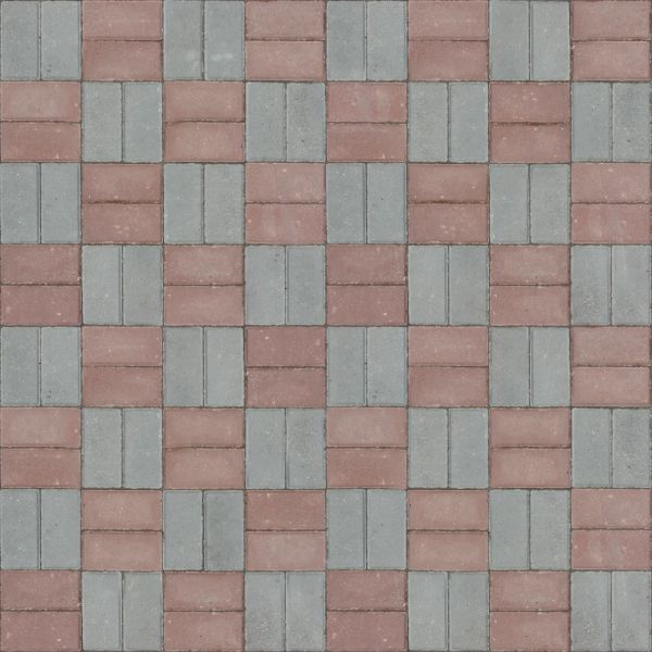 Seamless texture of grey and red bricks set in even pattern. even cobblestone texture 0111   Texturelib