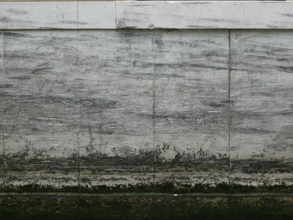 black stone wall texture exterior wall white cement wall with grey streaks and algae on bottom stone textures texturelib