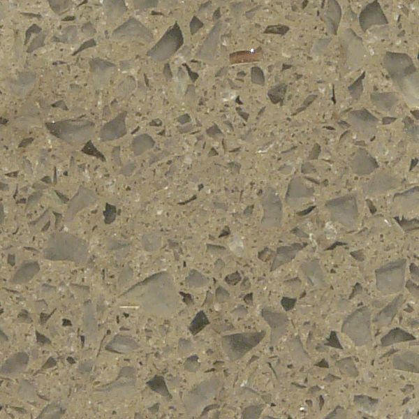 smooth  light brown concrete mixed with broken pieces of clear glassSeamless Clear Glass Textures