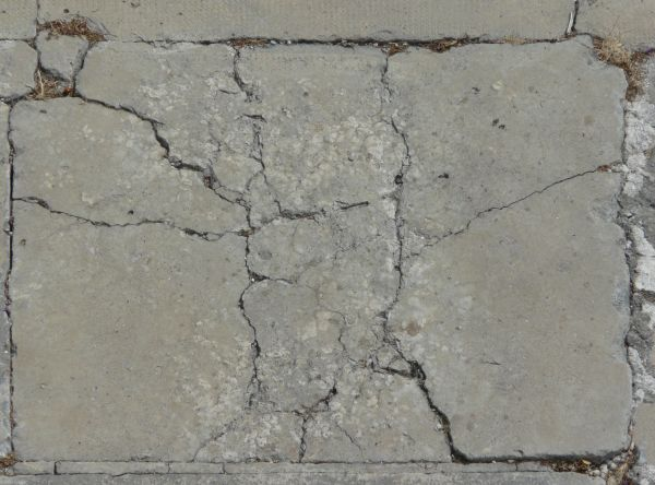 Cracked Concrete Slab 0051 Texturelib