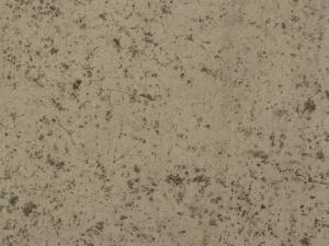 Concrete floor texture in light beige tone with few cracks and dirty surface.