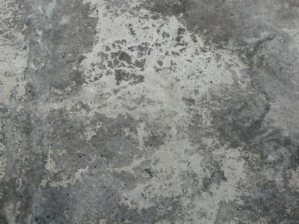 Concrete Floor Texture In Mixed Shades Of Grey With Few Small Cracks Surface