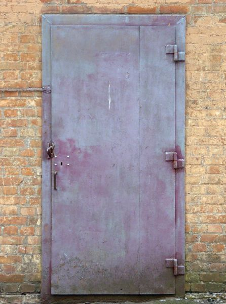 Purple Metal Door 0050 Texturelib