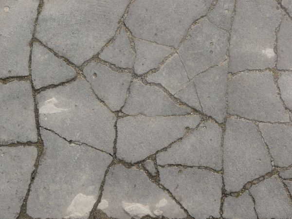 without proper maintenance and care, cracks and damage can spread