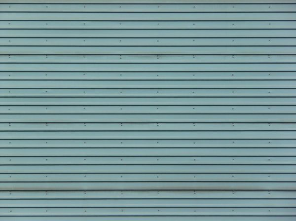 horizontal metal siding