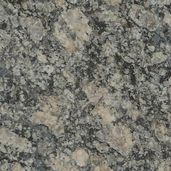 Seamless texture of flat marble in grey and tan tones with smooth surface.