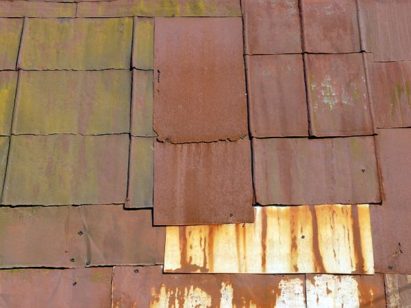 Rusted Metal Roof Texture Roof texture consisting of