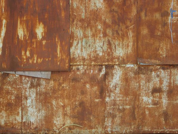 Rusted Metal Panels Texture 0040 Texturelib