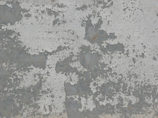 Steel Plate Texture chipping white paint t...