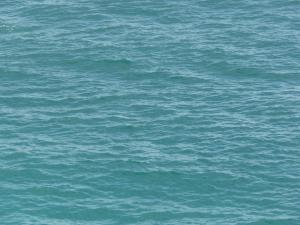 calm water texture. ocean water texture in vibrant blue tone with small waves on surface. calm